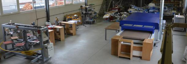 ruime werkruimte -