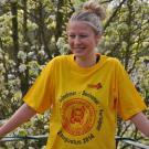 PROSHIRT - T-Shirt B&C 150g color - tshirts Wandelaar dodentocht 2014