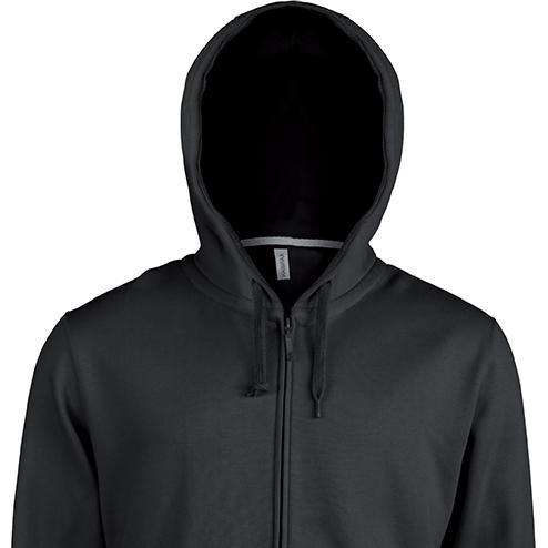 PROSHIRT - K454 heren hooded zipped sweater -