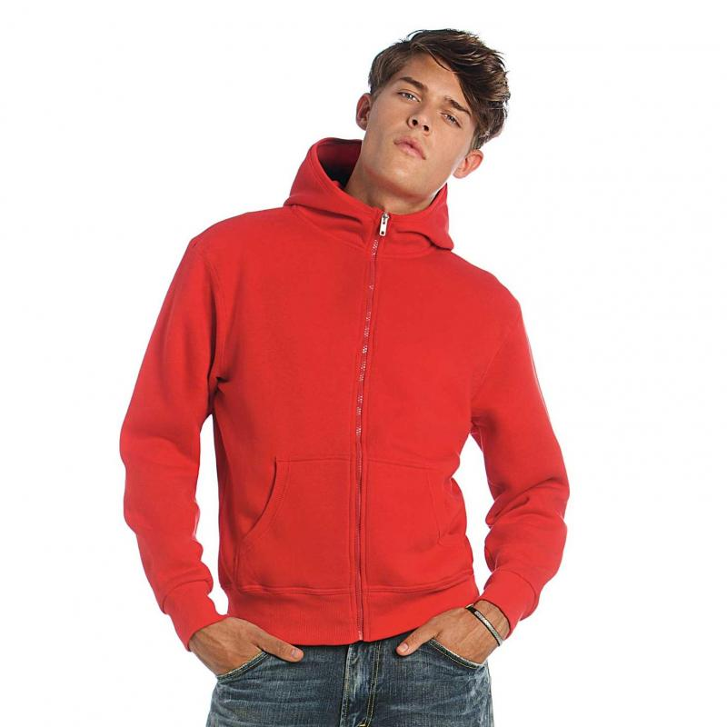 PROSHIRT - hooded sweater met rits -