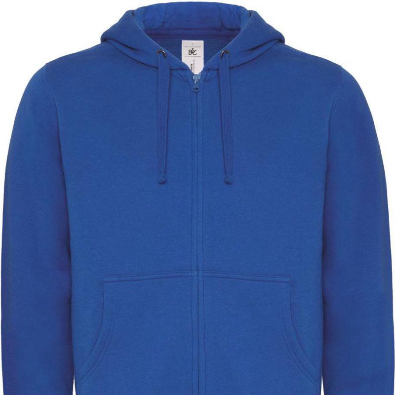 PROSHIRT - hooded sweater met rits wm647 -